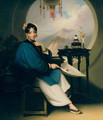A Geisha Girl - George Chinnery