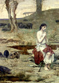 The Prodigal Son 2 - Pierre-Cecile Puvis de Chavannes