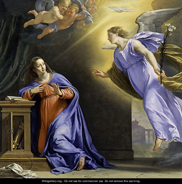 The Annunciation ca 1644 - Philippe de Champaigne