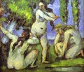 Three Bathers 2 - Paul Cezanne