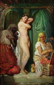 The Bath in the Harem 1849 - Francis Cotes