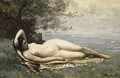 Bacchante by the Sea 1865 - Jean-Baptiste-Camille Corot