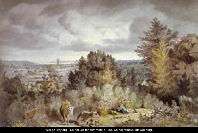 Dedham Hurch And Vale 1800 - John Constable