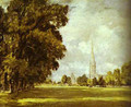 A View Of Salisbury Cathedral 1825 - John Constable