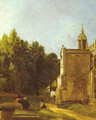 A Church Porch (The Church Porch East Bergholt) 1809 - John Constable