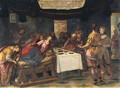 Christ in the House of Simon the Pharisee - Henri Coeylas