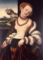 Suicide of Lucretia 1529 - Lucas The Elder Cranach