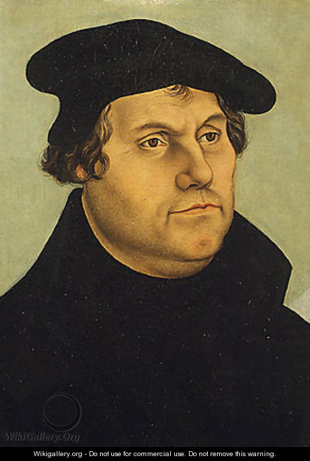 Martin Luther 4 - Lucas The Elder Cranach
