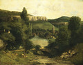 View of Ornans probably mid 1850s - Gustave Courbet