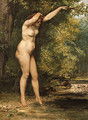 The Young Bather 1866 - Gustave Courbet