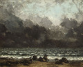 The Sea 1873 - Gustave Courbet