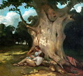 The Large Oak 2 - Gustave Courbet