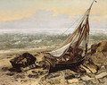 The Fishing Boat 1865 - Gustave Courbet