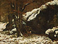 The Deer ca. 1865 - Gustave Courbet