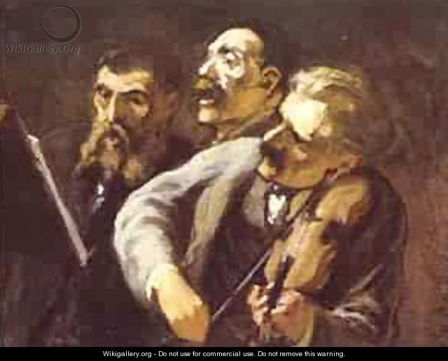 Three Amateur Musicians 1864-65 - Honoré Daumier