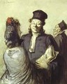A Lawyer With His Client 1862 - Honoré Daumier