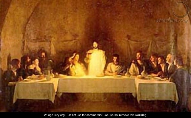 The Last Supper - Pascal Adolphe Jean Dagnan-Bouveret