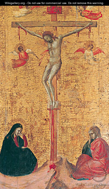 The Crucifixion ca 1325 - Bernardo Daddi