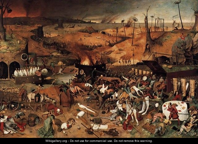 The Triumph of Death 1562 2 - Jan The Elder Brueghel