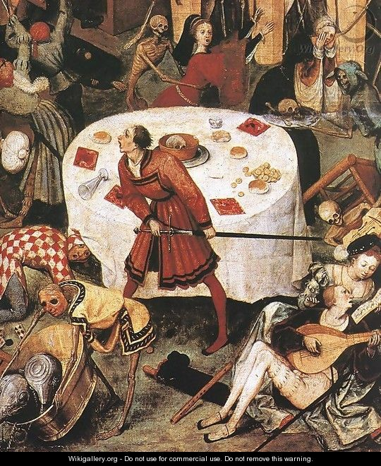 The Triumph of Death (detail) 1562 - Jan The Elder Brueghel