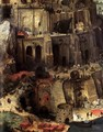 The Tower of Babel (detail) 1563 5 - Jan The Elder Brueghel