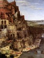 The Tower of Babel (detail) 1563 2 - Jan The Elder Brueghel