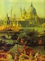 The Reception Of The French Ambassador In Venice Detail 1740 - (Giovanni Antonio Canal) Canaletto