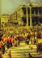The Reception Of The French Ambassador In Venice Detail 1 1740s - (Giovanni Antonio Canal) Canaletto