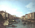 The Grand Canal 3 - (Giovanni Antonio Canal) Canaletto