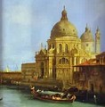 Santa Maria Della Salute Seen From The Grand Canal 1 1730 - (Giovanni Antonio Canal) Canaletto