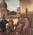 Carpaccio Arrival of the English Ambassadors detail3 - Vittore Carpaccio