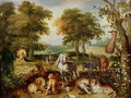 Terrestrial Paradise - Jan The Elder Brueghel