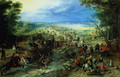 Raid on a caravan of wagons 1612 - Jan The Elder Brueghel