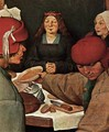 Peasant Wedding (detail) 1567 - Jan The Elder Brueghel