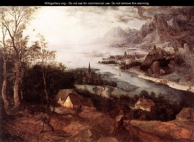Landscape with the Parable of the Sower 1557 - Jan The Elder Brueghel