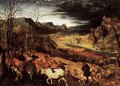 The Return of the Herd (November) 1565 - Jan The Elder Brueghel