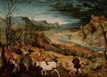 The Return of the Herd - Jan The Elder Brueghel