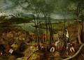 The Gloomy Day Spring 1559 - Jan The Elder Brueghel