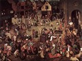 The Fight between Carnival and Lent 1559 - Jan The Elder Brueghel