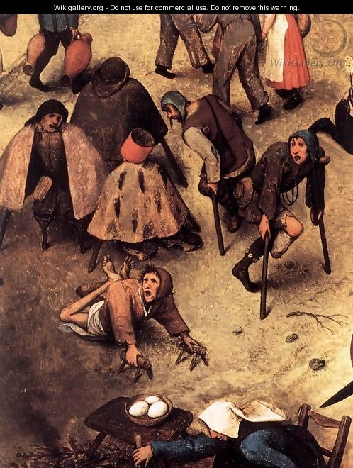 The Fight between Carnival and Lent (detail) 1559 5 - Jan The Elder Brueghel