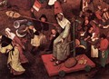 The Fight between Carnival and Lent (detail) 1559 2 - Jan The Elder Brueghel