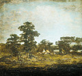 An Indian Encampment 1880 - Ralph Albert Blakelock