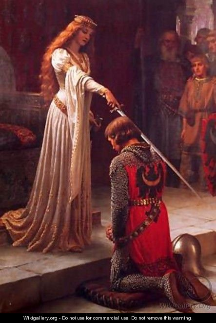Knighted - Blair-leighton Edmund