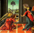 The Annuciation - Sandro Botticelli (Alessandro Filipepi)