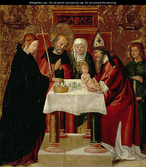 The Circumcision and The Presentation in the Temple 1535 - Juan de Borgona