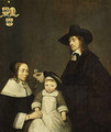 The van Moerkerken Family probably 1653 - Gerard Ter Borch