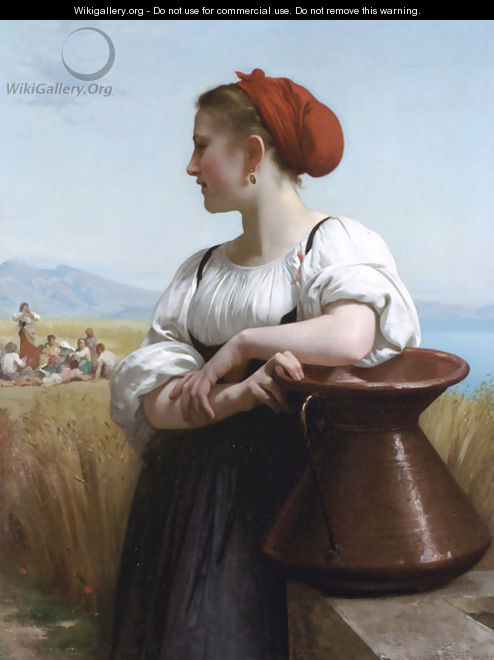 Moissoneuse - William-Adolphe Bouguereau