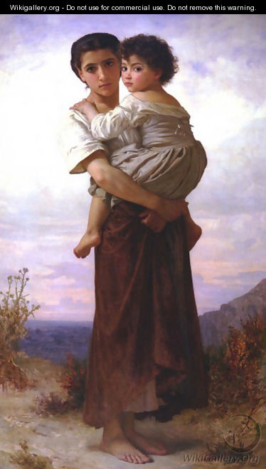 Les Bohemmiennes - William-Adolphe Bouguereau