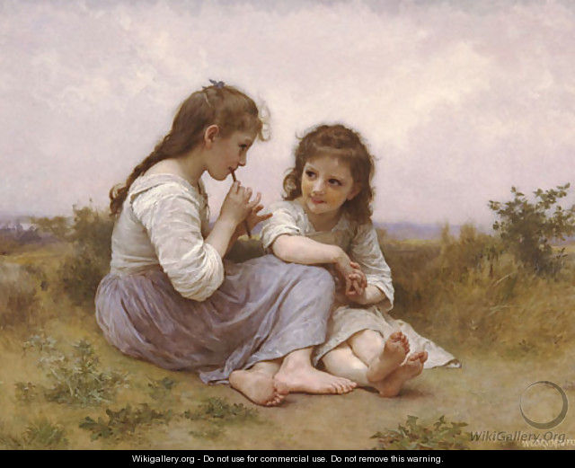 Idylle Enfantine - William-Adolphe Bouguereau