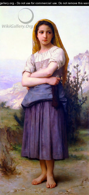 Bergere 1886 - William-Adolphe Bouguereau